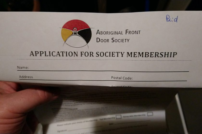 MEMBERSHIPS - Aboriginal Front Door Society