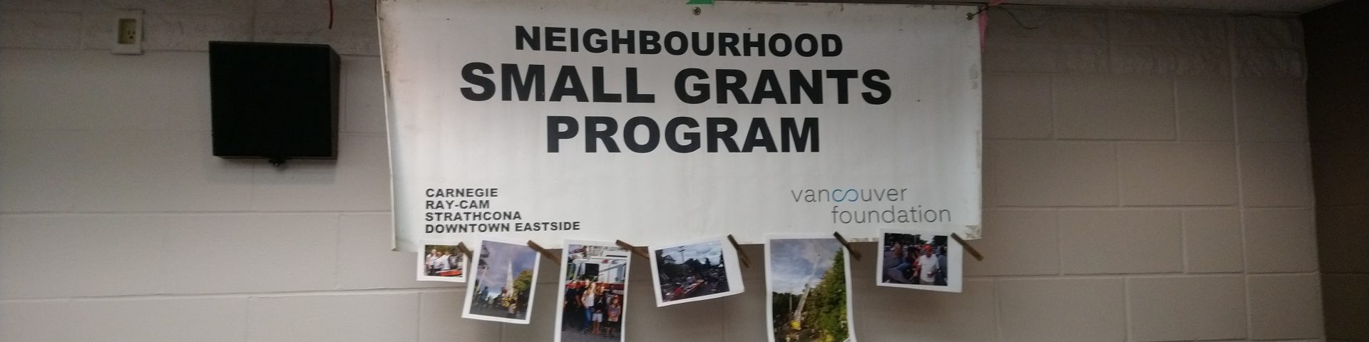 Image result for THE VANCOUVER FOUNDATION SMALL GRANTS PROGRAM